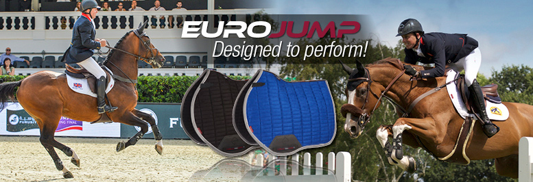LeMieux Euro Jump Suede With Binding