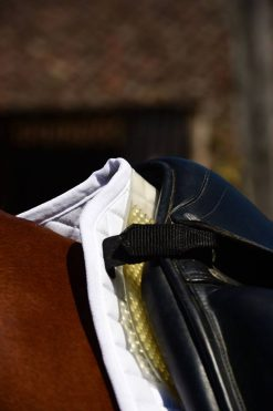 Gold VIP Pressure Relieving Saddle Pad Fitted