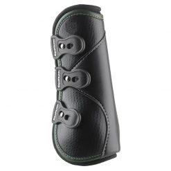 D-TEQ Front Green Binding Equine Boots