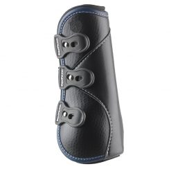 D-TEQ Front Navy Binding Equine Boots