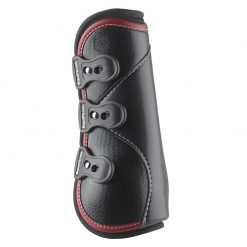 D-TEQ Front Red Binding Equine Boots