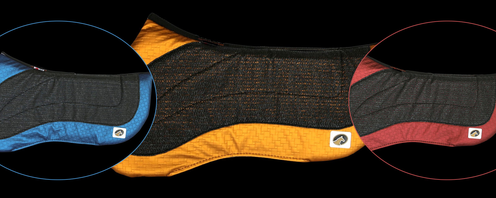 EcoGold Flip Half Pad - Reversible Saddle Pads for your Horse