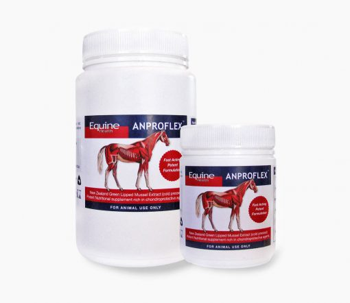 Equine Health Anproflex available in 220g or 500g