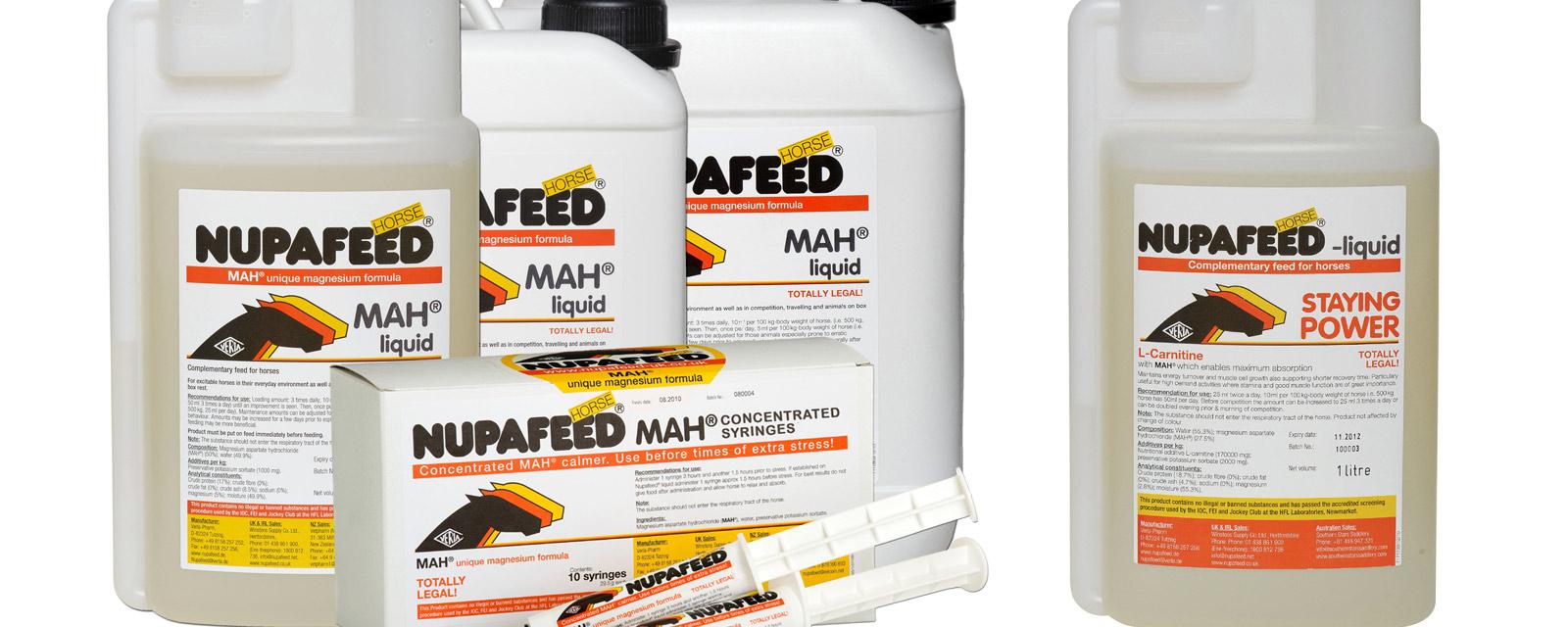 Nupafeed MAH Calmer Liquid & Staying Power Liquid