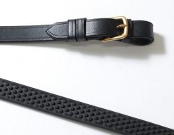 Rubber Grip Reins Detail - Southern Stars Saddlery