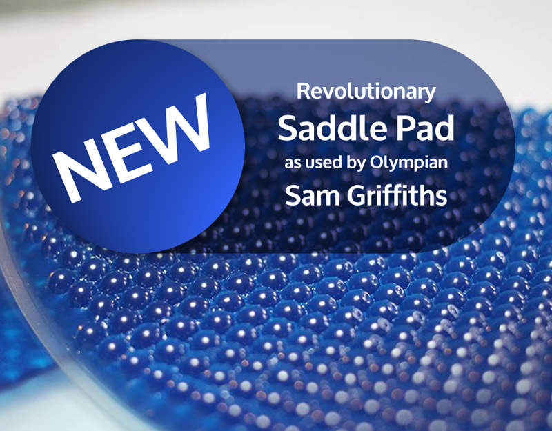 NEW - VIP Saddle Pads as used by Olympian Sam Griffiths