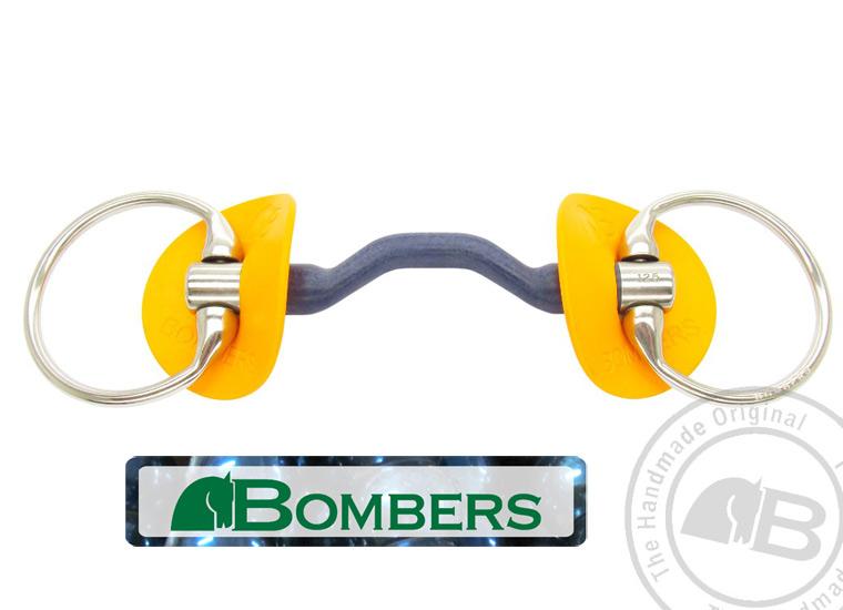Bombers Eggbutt Bomber Blue Horse Bit | Southern Stars Saddlery